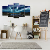 Ethereal Sky 5 Piece Canvas