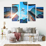 Perfect Timing 5 Piece Canvas
