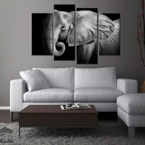 Liquid Guitar 4 Piece Canvas
