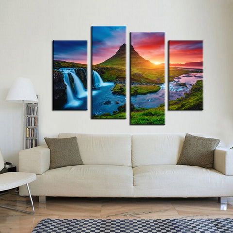 Limited Edition Wave Carve 4 Piece Canvas