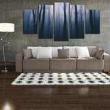 Dark Forest 5 Piece Canvas
