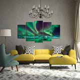 Dancing Light 5 Piece Canvas