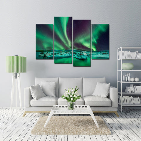 Guardian Angel 4 Piece Canvas