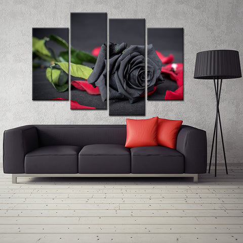 Strength and Power 4 Piece Canvas