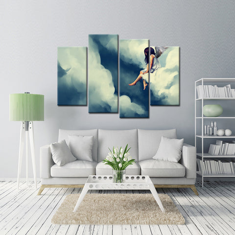 Foggy Forest 4 Piece Canvas