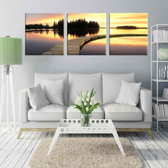 Vibrant Blast 3 Piece Canvas