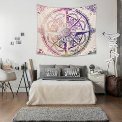 Purple Diamonds Tapestry