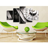 Vintage Camera Dial 5 Piece Canvas
