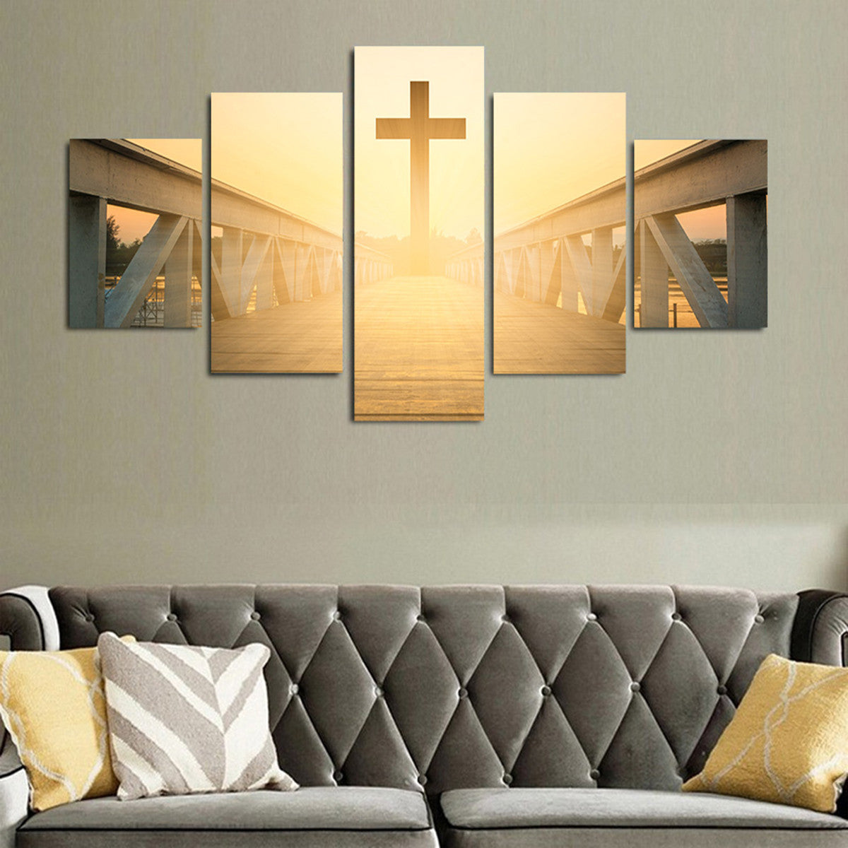 Journey to Heaven 5 Piece Canvas