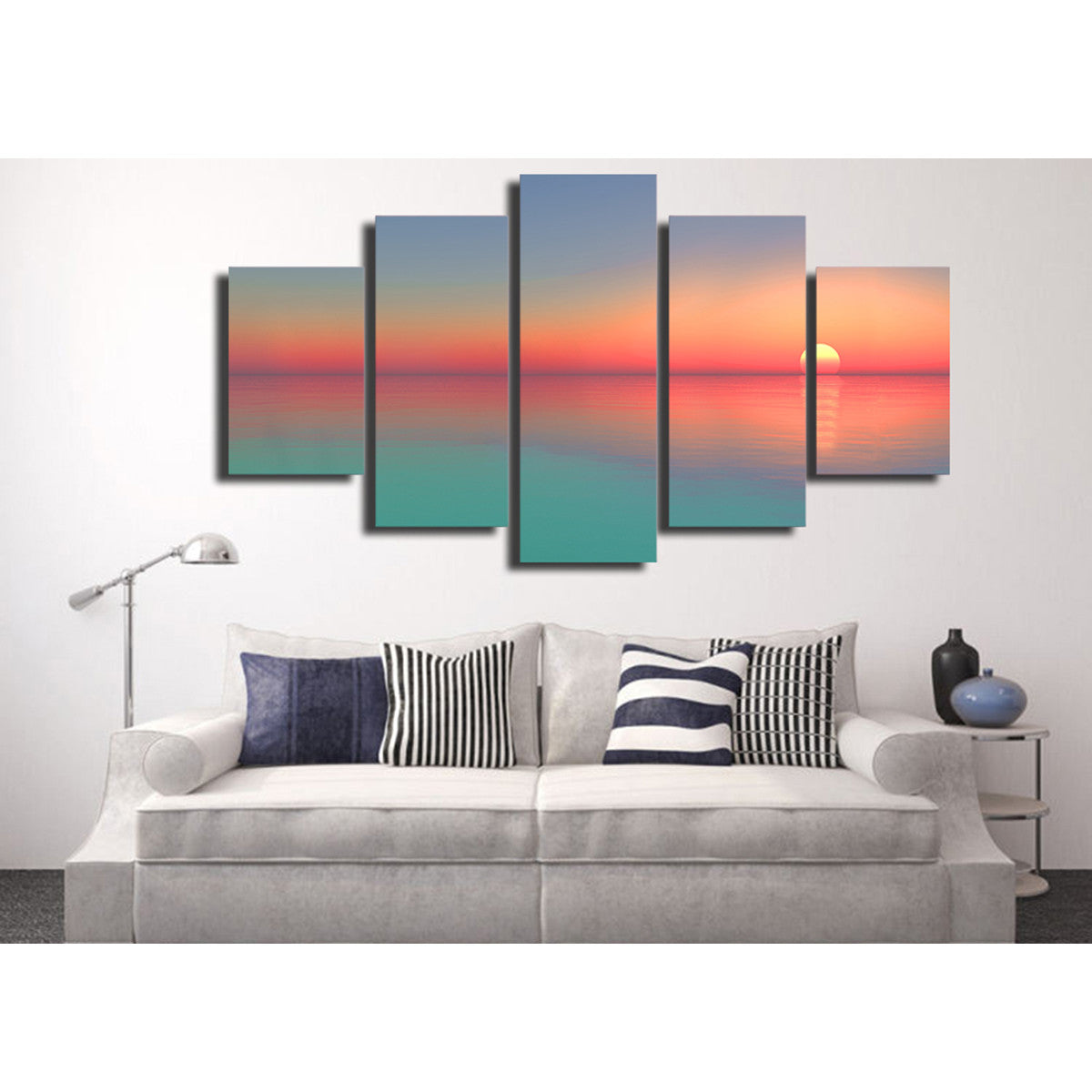 Sunset Glow 5 Piece Canvas