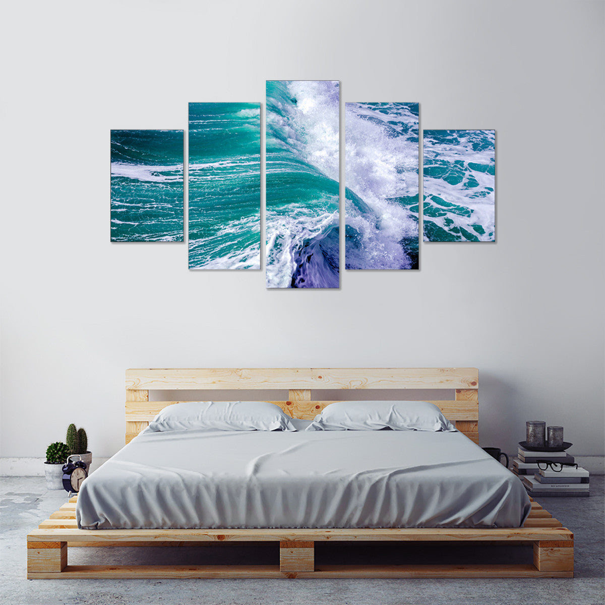 Water Rush 5 Piece Canvas