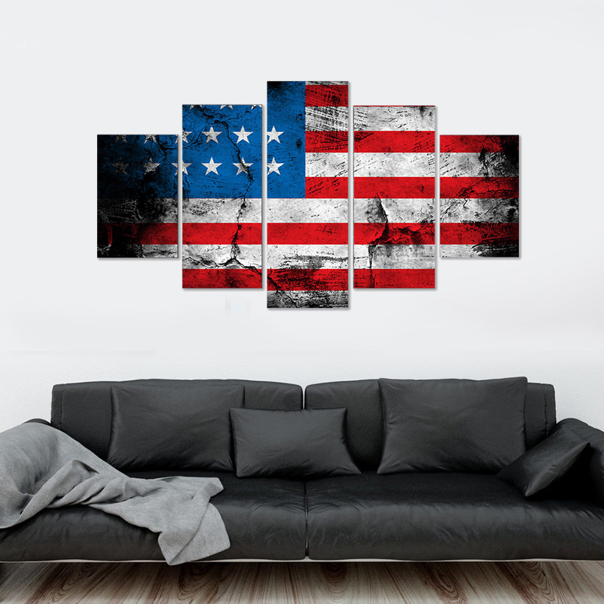 Strong America 5 Piece Canvas