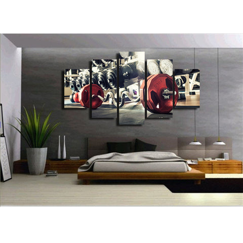 Stadium Dazzle  5 Piece Canvas