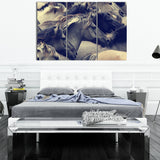 Black Horse 3 Piece Canvas