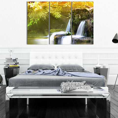 Autumn Silence 3 Piece Canvas