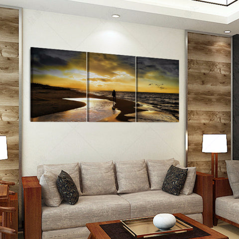 Broken Tree 3 Piece Canvas