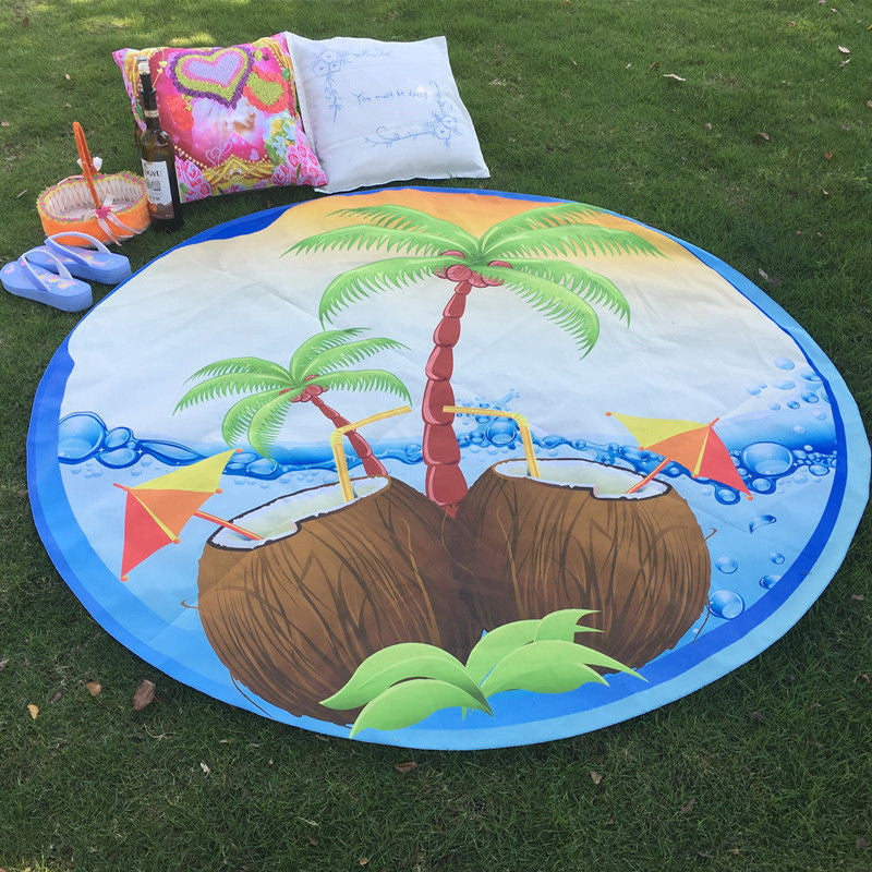 Summer Coconut Tapestry