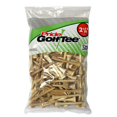"2 1/8"" Bagged Golf Tee Packs"