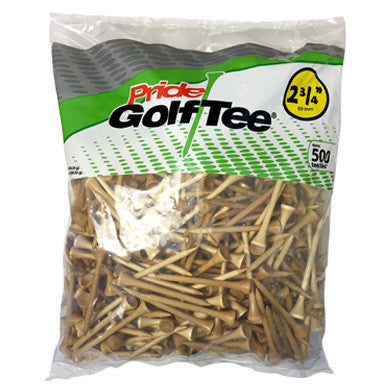 "2 3/4"" Bagged Golf Tee Packs"