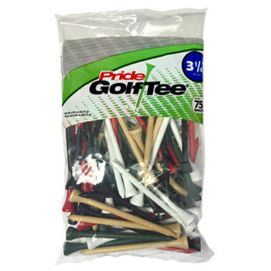 Bagged Golf Tee Pack Colors