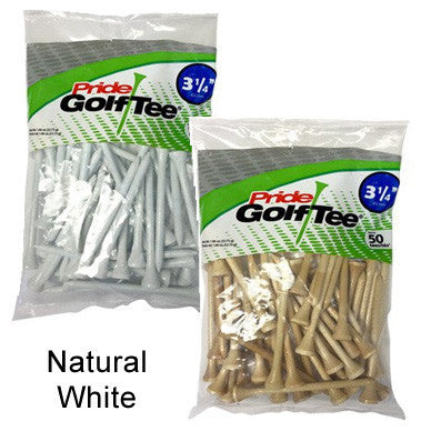 "3 1/4"" Bagged Golf Tee Packs"