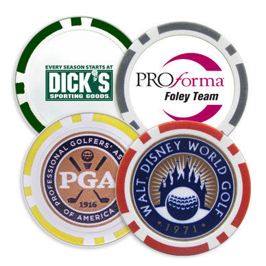 Poker Chip Ball Markers