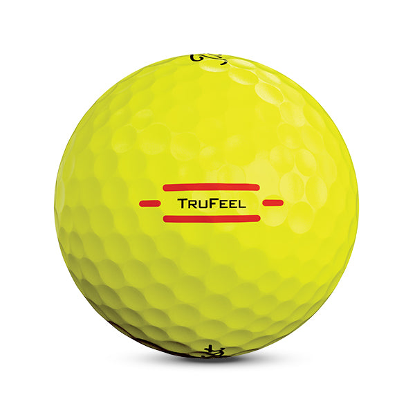 Titleist TruFeel • Yellow - Custom Logo Imprint