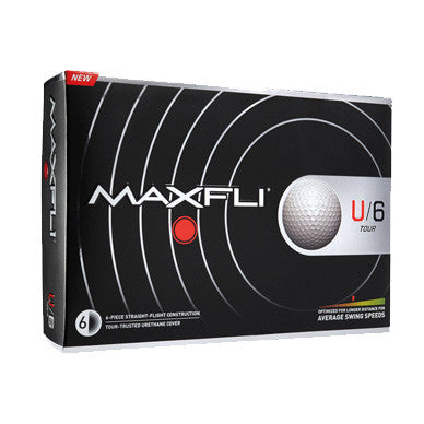 Maxfli U/6 Tour - Custom Logo Imprint
