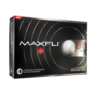 Maxfli U/6 Tour X - Custom Logo Imprint