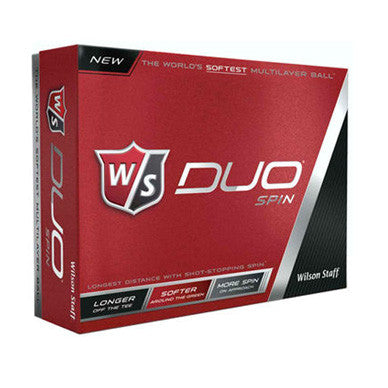 Wilson Staff Duo Spin Logo Imprinted Golf Balls