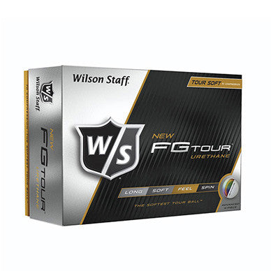 Wilson Staff FG Tour Urethane Text Imprinted Golf Balls