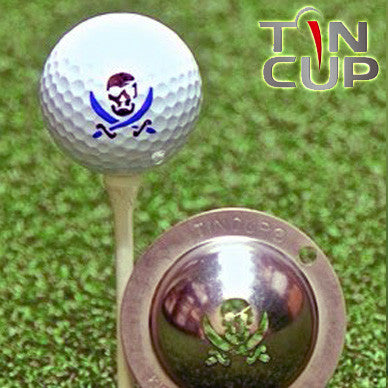 "Tin Cup Ball Marker ™    ""Fire In The Hole"""