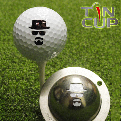 "Tin Cup Ball Marker ™    ""Incognito"""