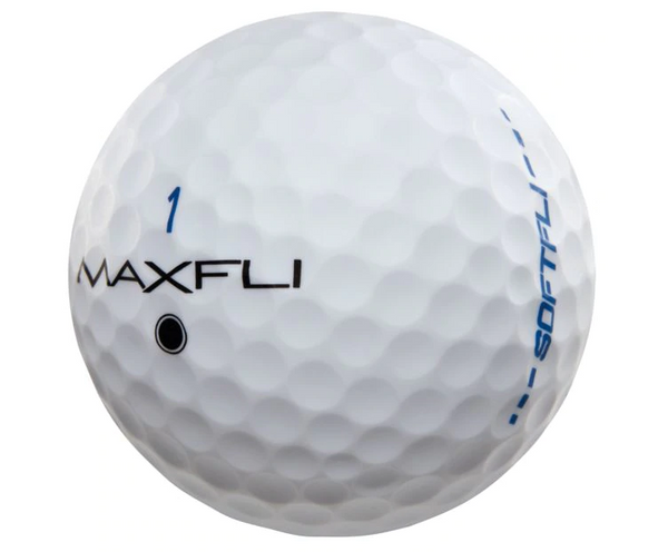 Maxfli SoftFli Matte Golf Balls - Custom Logo Imprint