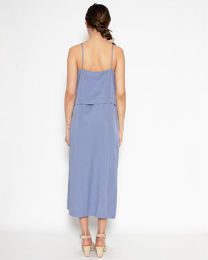 Camilla Dress in Cornflower Tencel