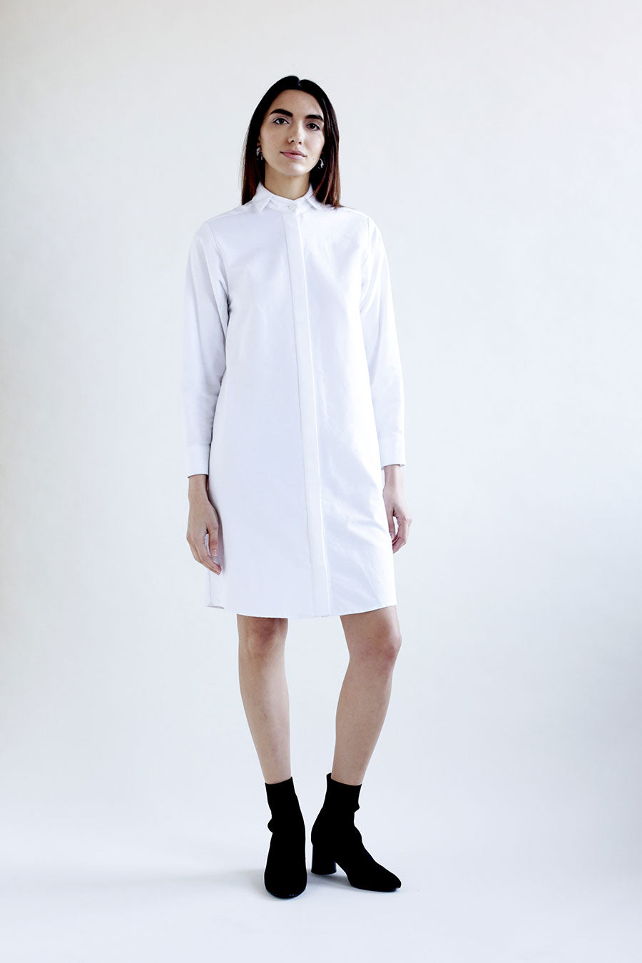 Open-Collar Dress