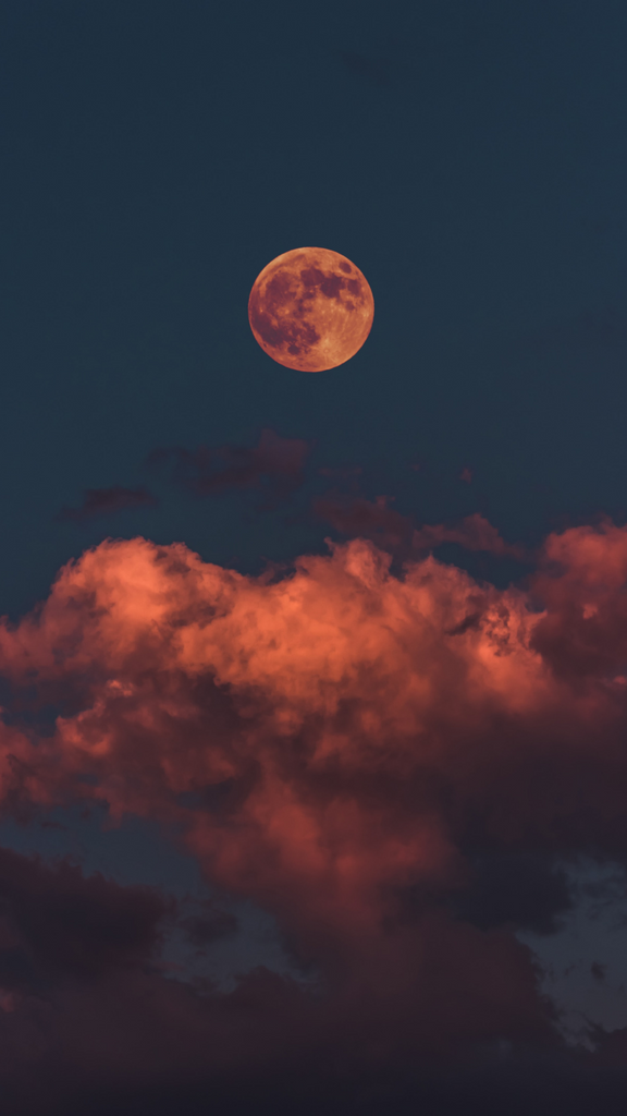 Full Moon Wallpaper for iPhone