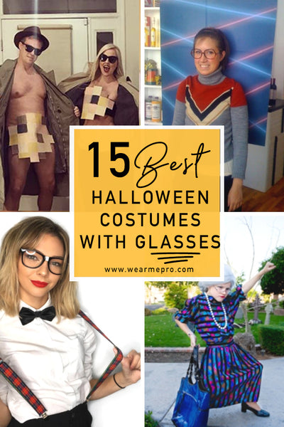 12 Halloween Costume Ideas With Glasses Or Sunglasses