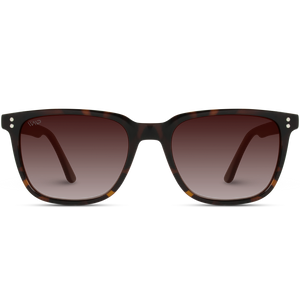 brown gradient lens sunglasses