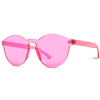 full bright pink sunglasses
