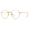 metal frame round glases