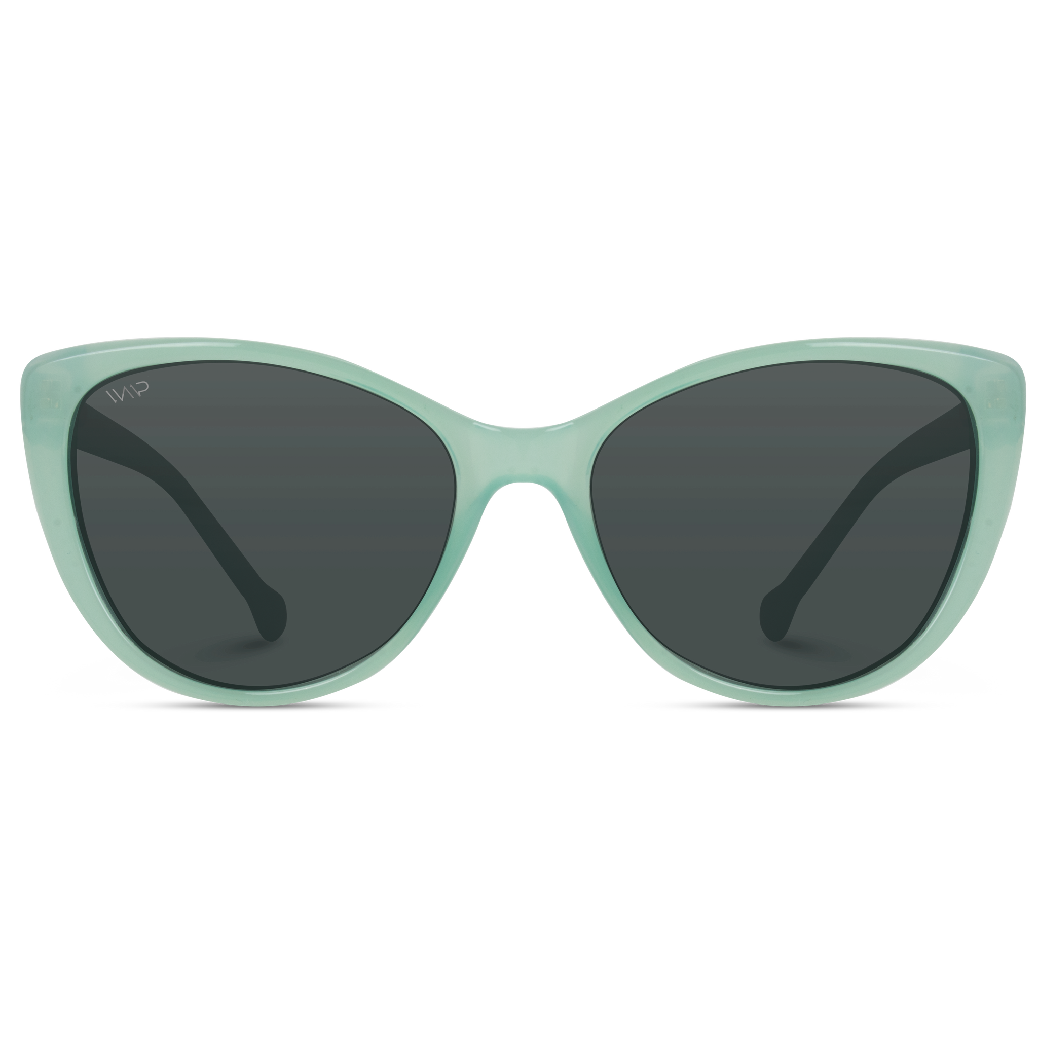 teal frame women elegant cat eye sunglasses