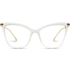 clear frame cat eye glasses for women, women clear frame cat eye glasses