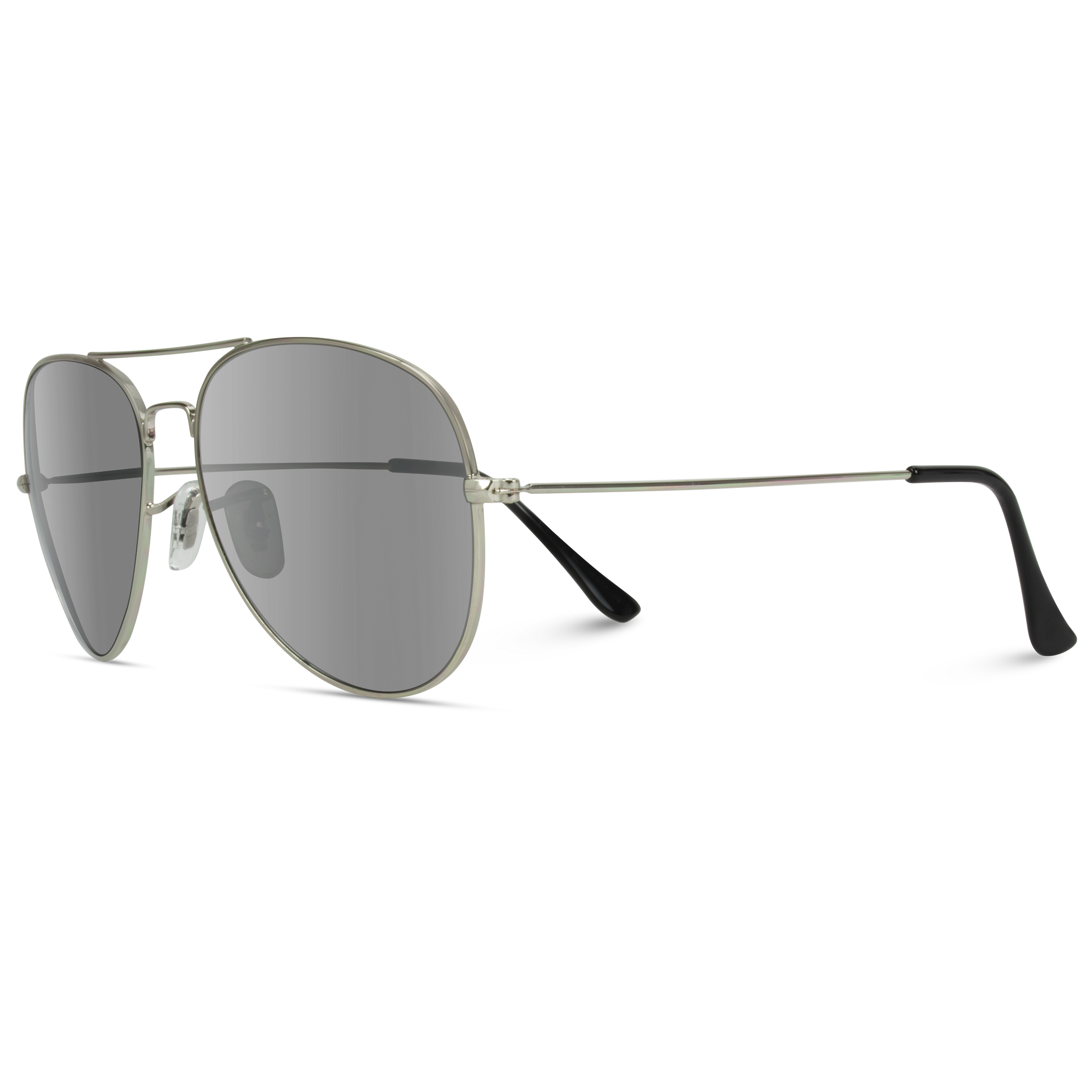 Levi Classic Full Mirrored Lens Metal Frame Aviator Sunglasses