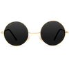 Ethel - Retro Round Metal Hippie Sunglasses - John Lennon Inspired