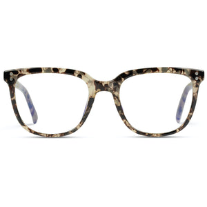 Lennox - Square Classic Flat Unisex Blue Light Blocking Glasses