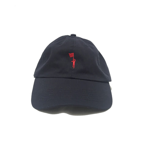 Flagbearer Unstructured cap - navy