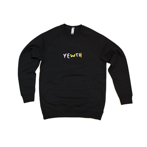 Yewth Ebroidered Crewneck Jumper