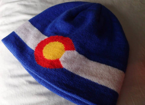Colorado State Flag Beanie