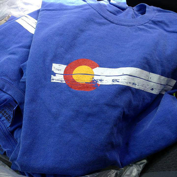 Vintage Colorado State Flag Shirt